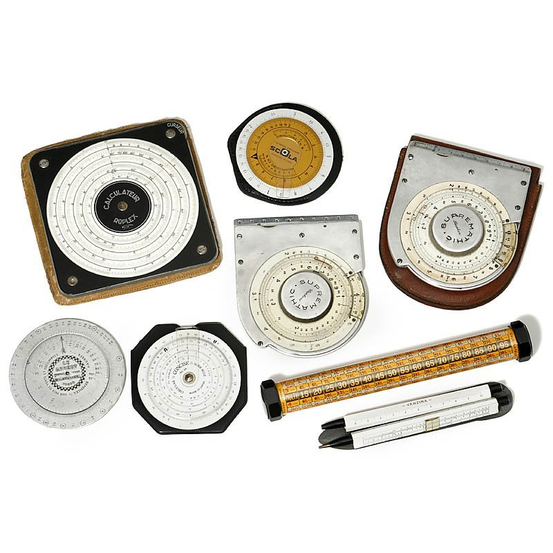 10: 9 Slide Rules & Calculating Devices
