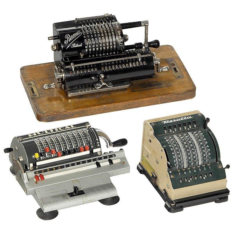 12: 3 Calculating Machines