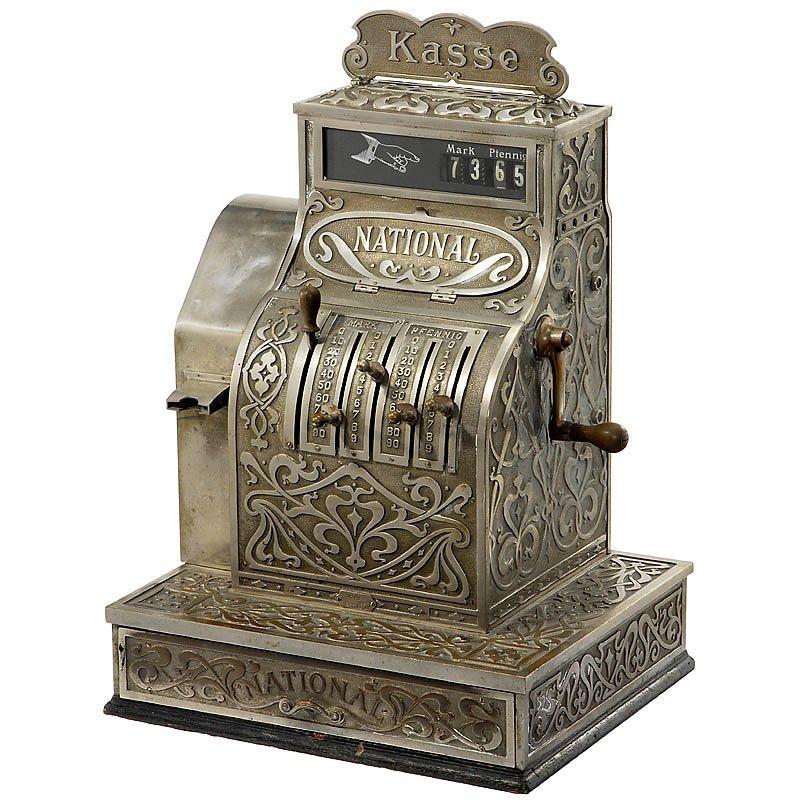 "17: ""National Cash Register Model 672"", c. 1908"