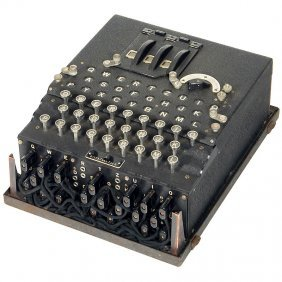 """18: """"Enigma Type A"""", c. 1943"""