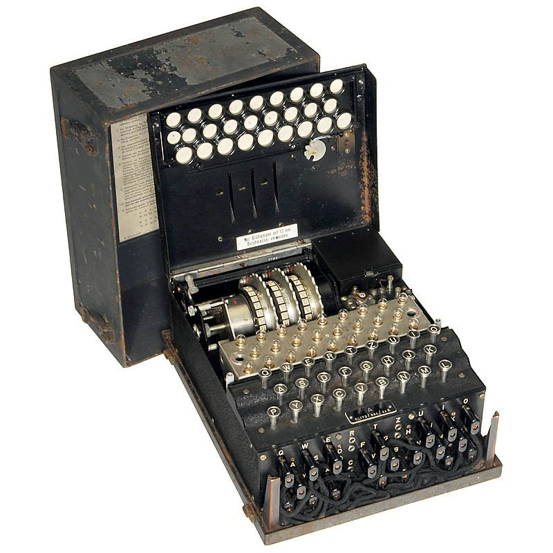 """18: """"Enigma Type A"""", c. 1943 - 2"""