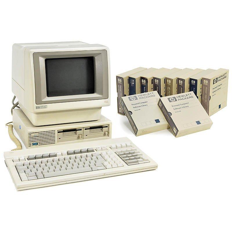 "19: Personal Computer""HP 150 Touchscreen"" (!), 1983"