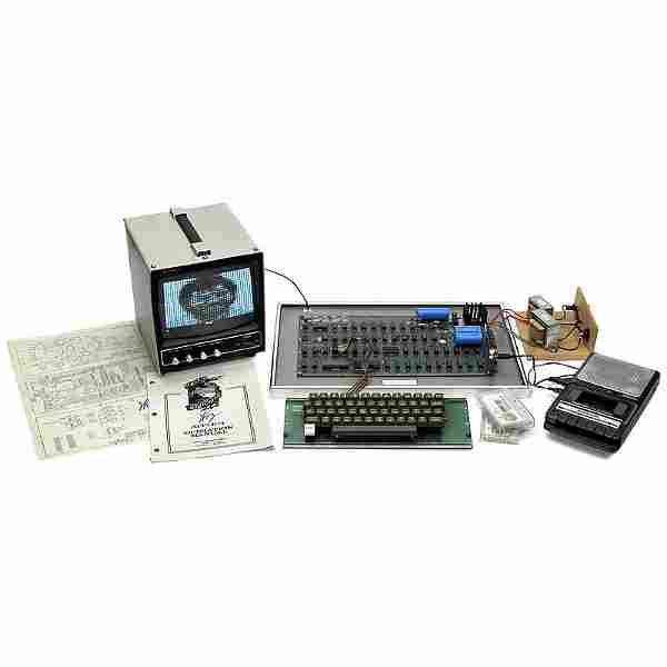 Original »Apple 1 Computer«, 1976