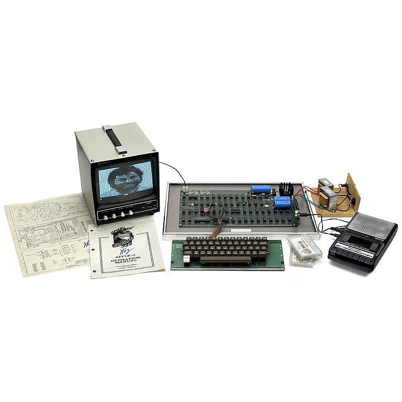 20: Original »Apple 1 Computer«, 1976