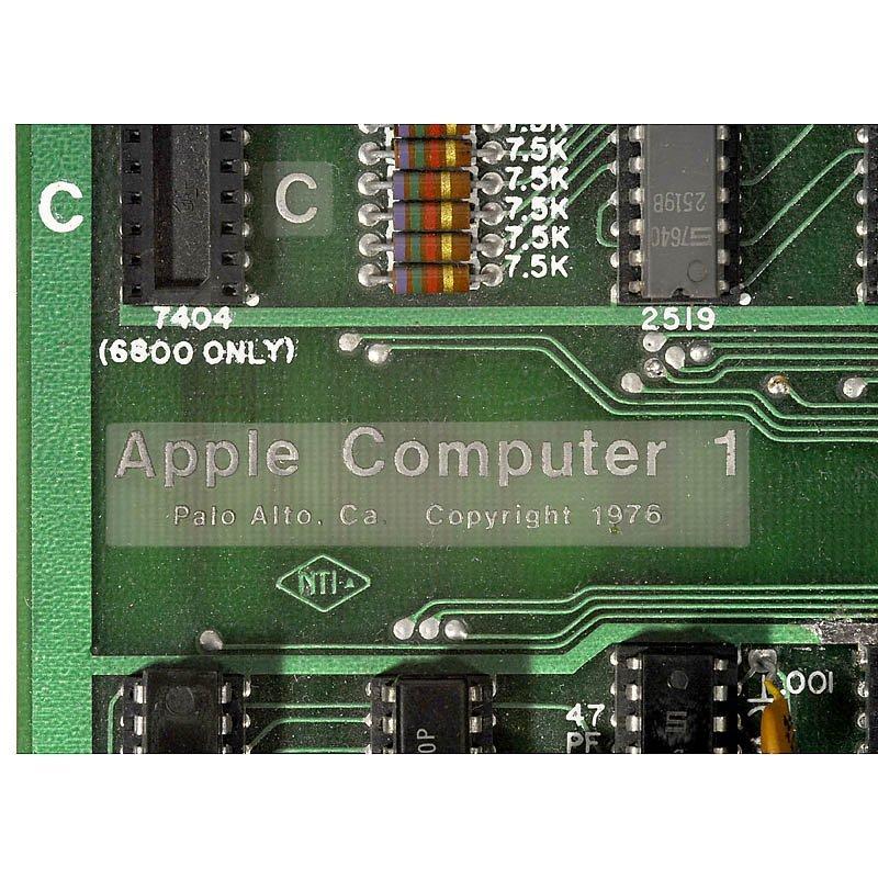 20: Original »Apple 1 Computer«, 1976 - 2