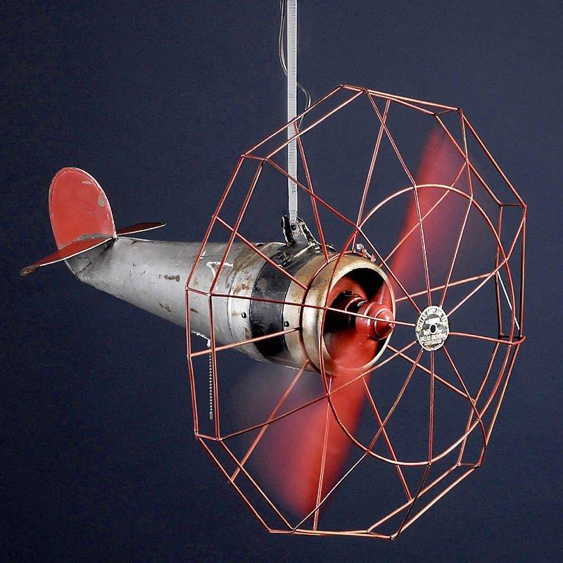 """Ceiling Fan """"Dallas Airplane Fan"""" c"""