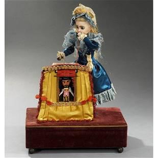 "510: Rare ""Magic Theatre"" Musical Automaton by Renou, c"