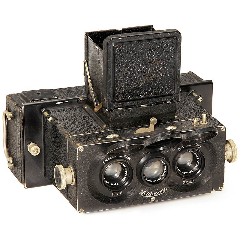 Stereo Camera Heidoscop 6 x 13, 1931