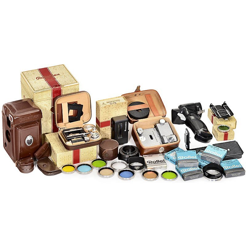 Rollei TLR Accessories