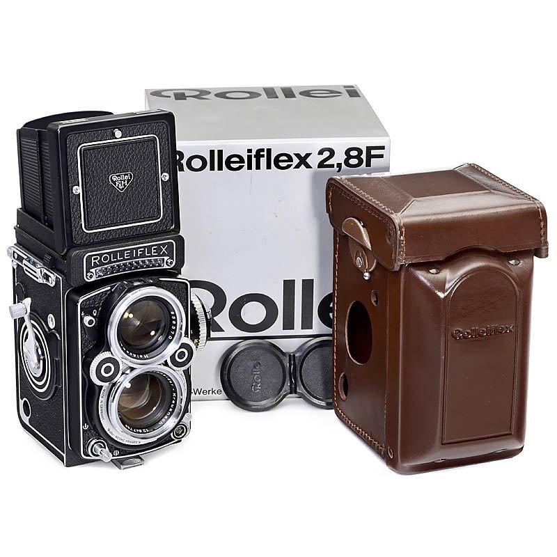 "Rolleiflex 2,8 F (Like New) - White Face - ""Xenotar 2,8"