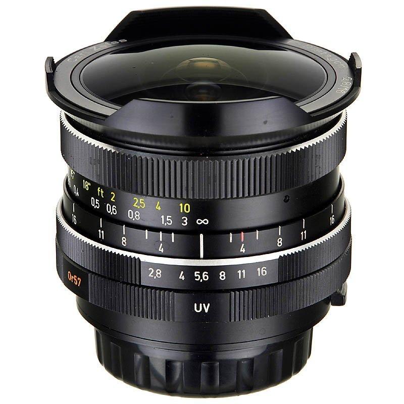 Fish-Eye F-Distagon 2,8/16 mm for Rolleiflex SL350, c.