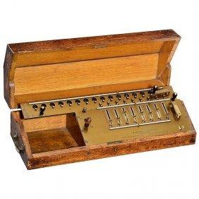 """Laytons Improved Arithmometer"", 1910"