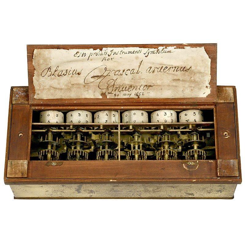 "Rare Six-Digit ""Pascaline"" Calculator by B. Pascal - 2"
