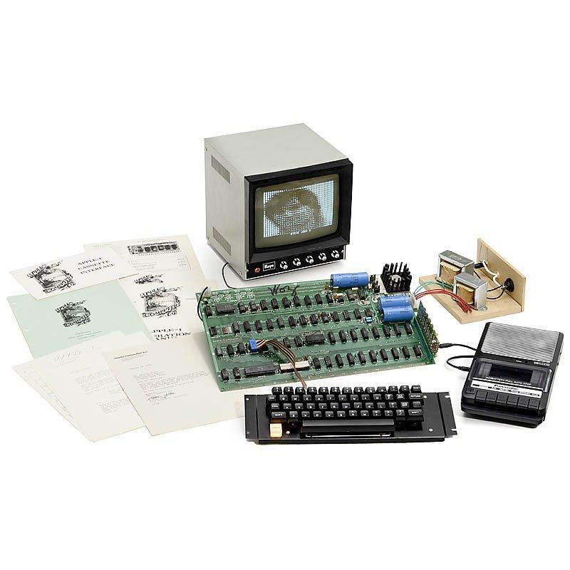 "Original ""Apple 1 Computer"", 1976"