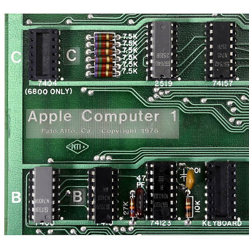"Original ""Apple 1 Computer"", 1976 - 4"