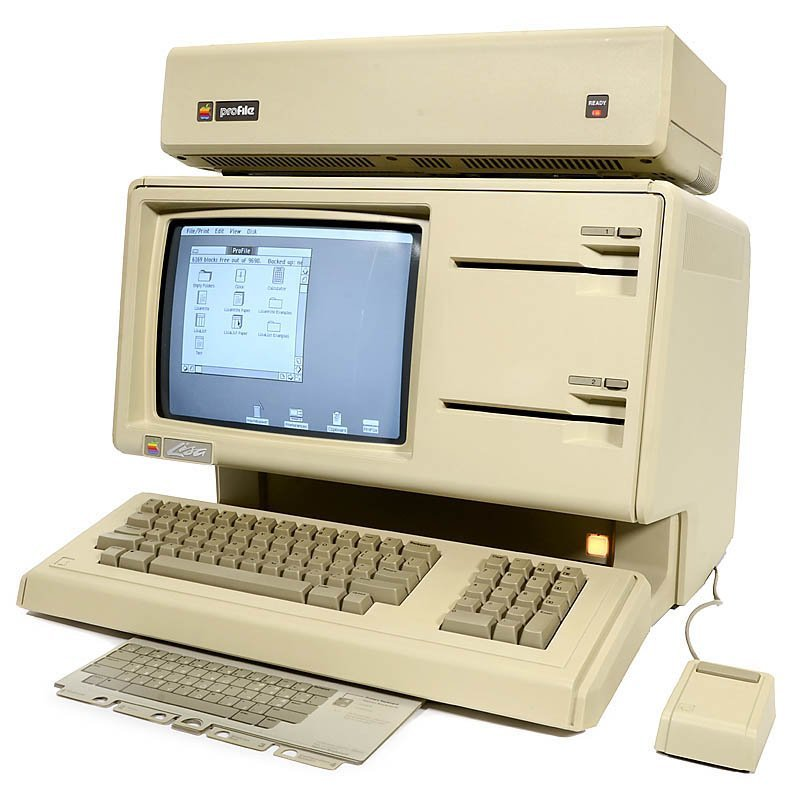 Apple LISA-1, 1983