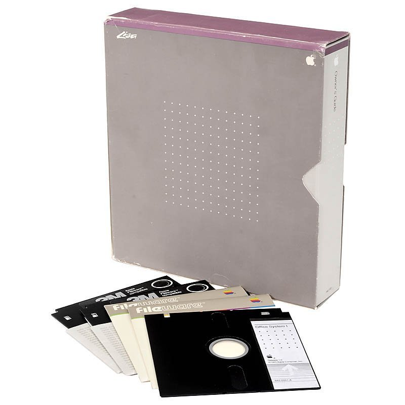 Apple LISA-1, 1983 - 7