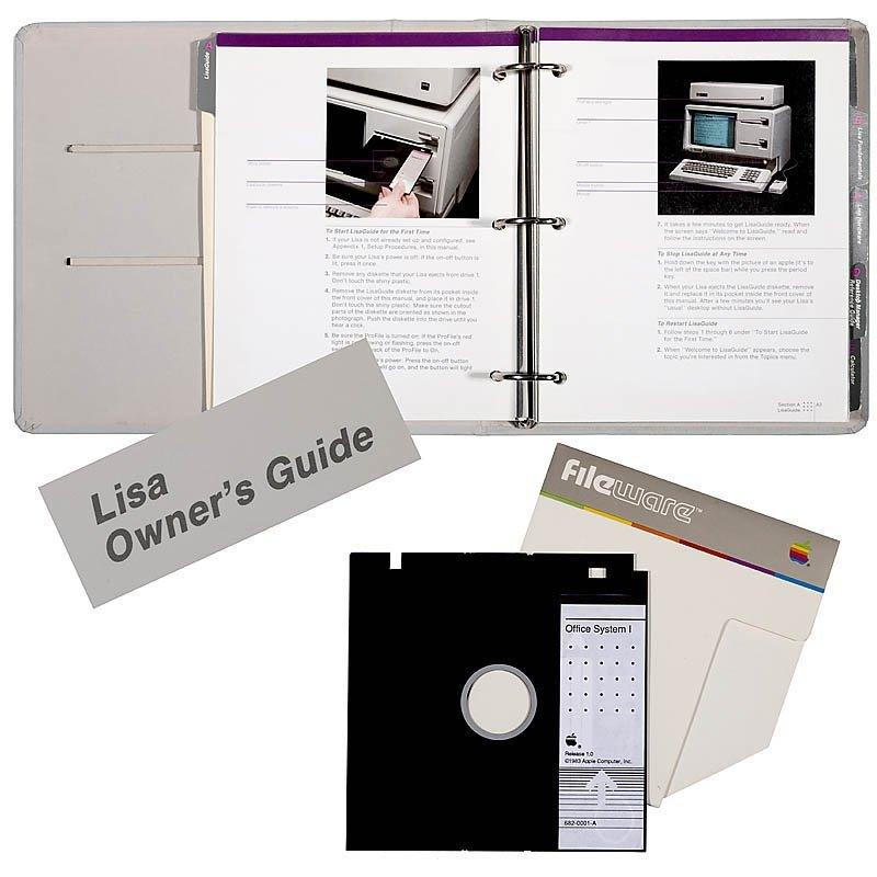 Apple LISA-1, 1983 - 8
