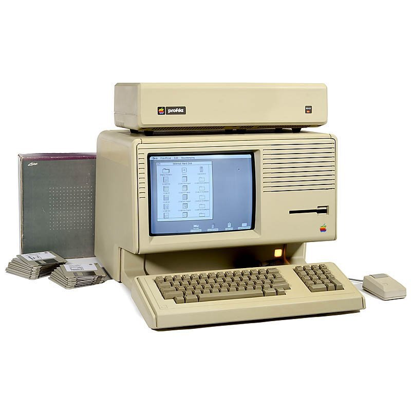 Apple Lisa 2/5, 1984
