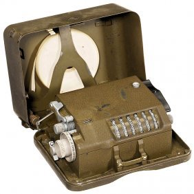 """Hagelin Cryptos C-38"" Cypher Machine, c. 1944"