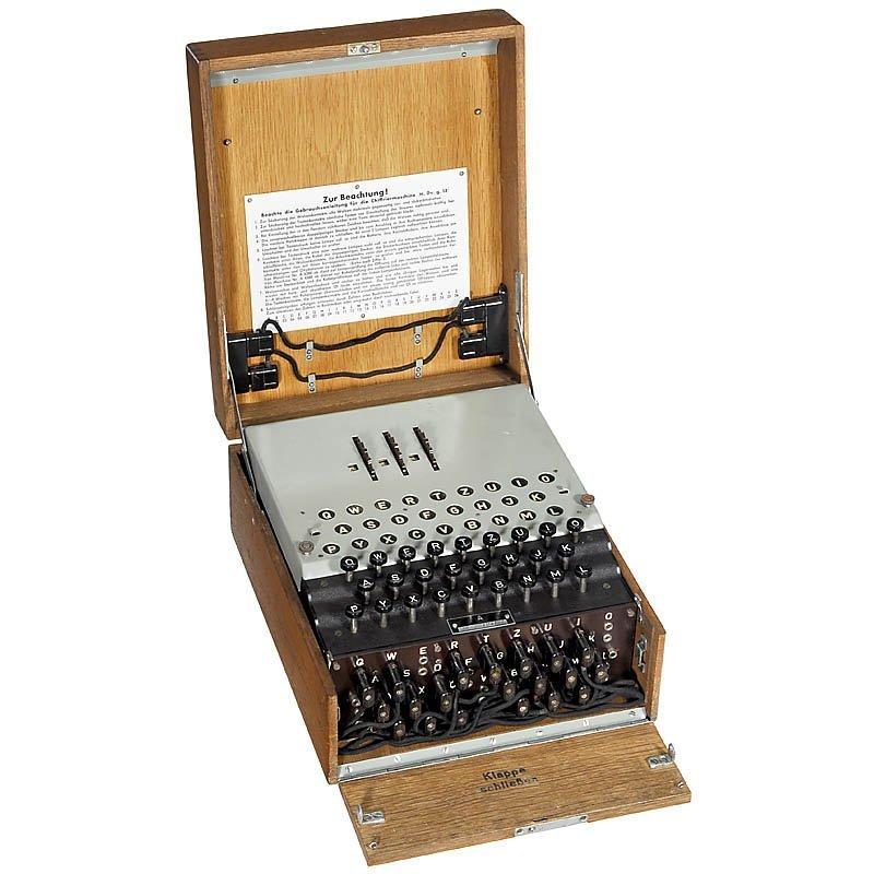 """German Cipher Machine """"Enigma"""", 1944"""