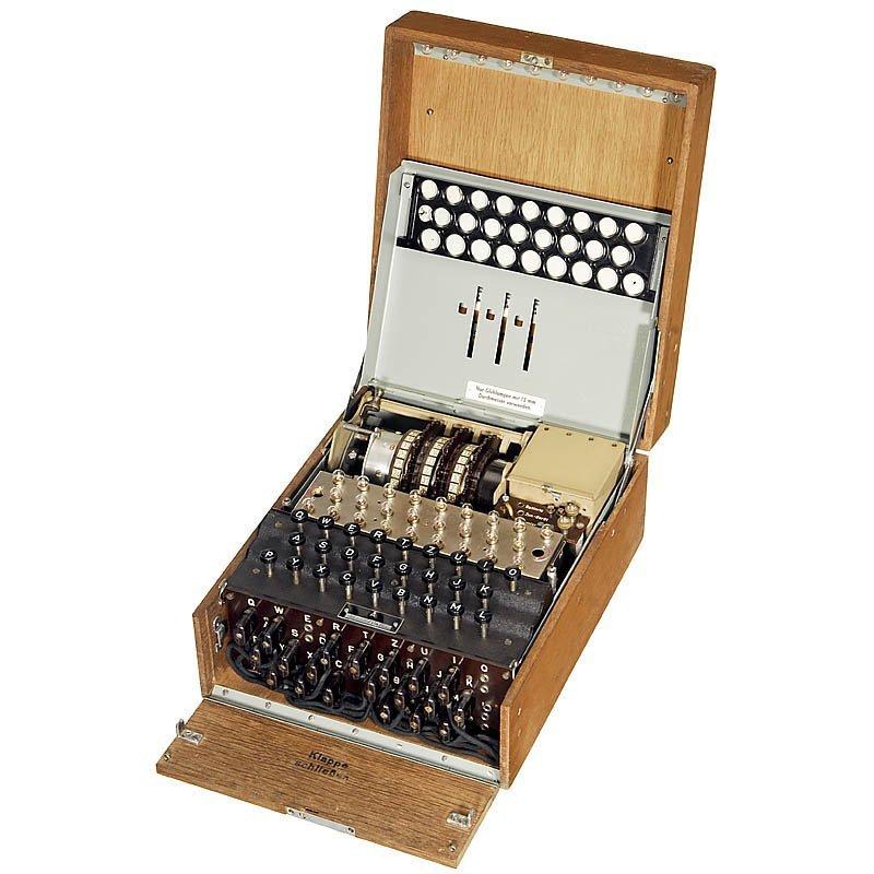 """German Cipher Machine """"Enigma"""", 1944 - 2"""