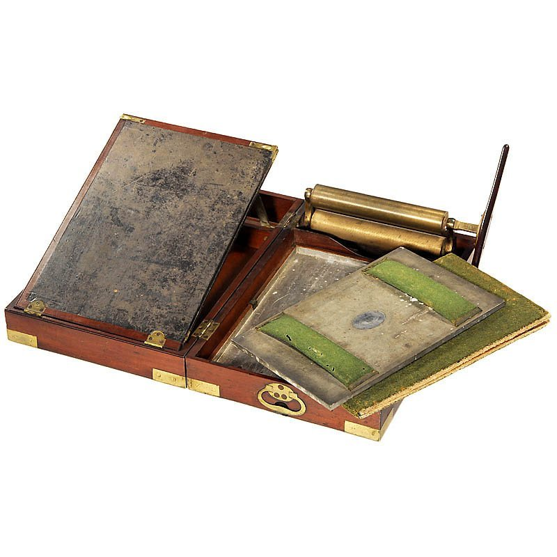 """World's First Patented Copying Press by """"James Watt"""", 1"""
