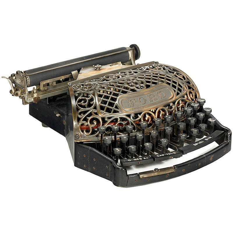 """Extremely Rare: """"The Ford Typewriter"""", 1895 - 2"""