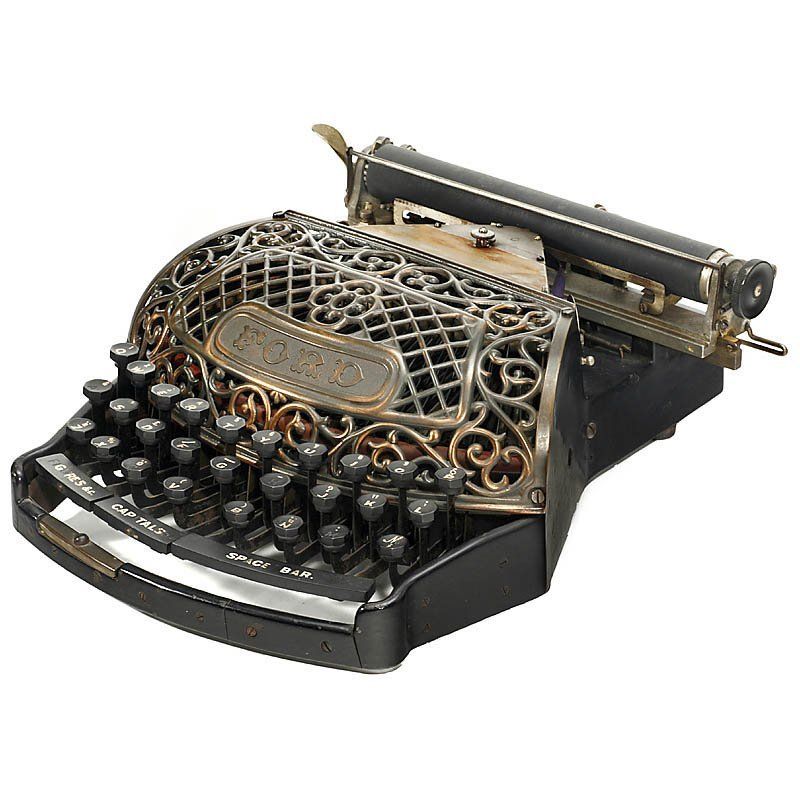 """Extremely Rare: """"The Ford Typewriter"""", 1895 - 3"""