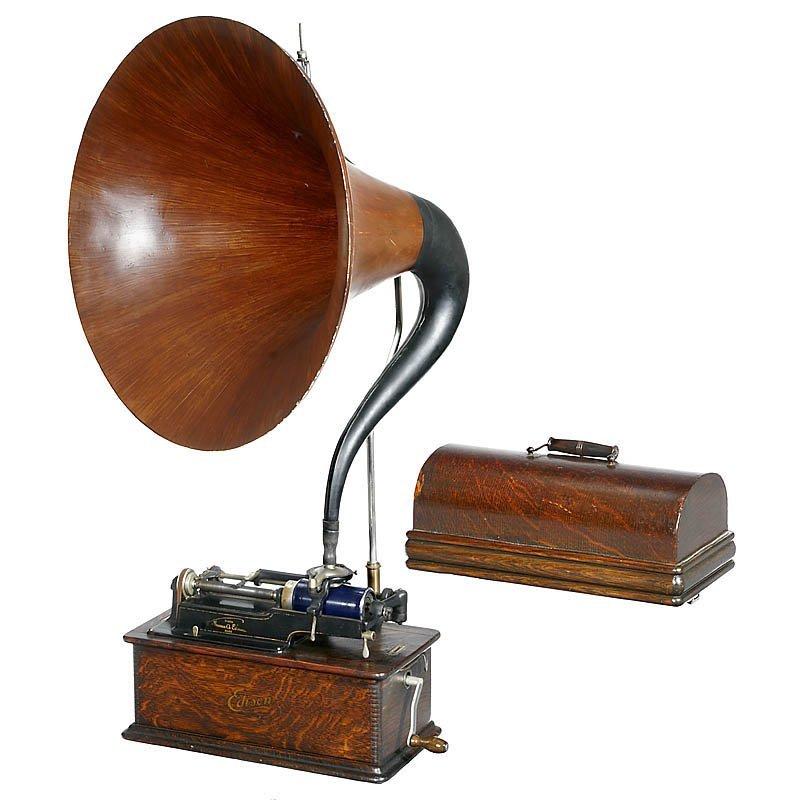 """Edison Home Model B"" Phonograph, c. 1908"