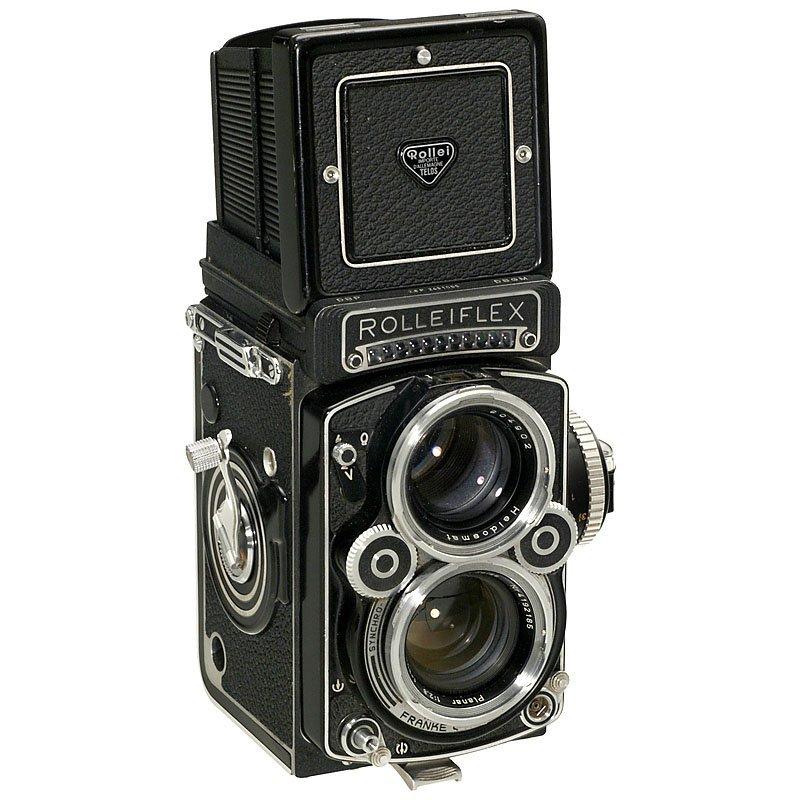 """Rolleiflex 2,8F """"Planar"""", 1966"""