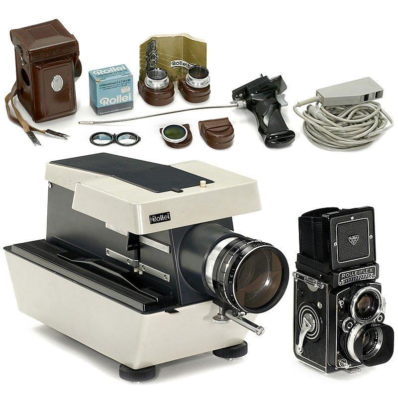 """Rolleiflex 2,8 F """"Planar"""", c. 1960"""