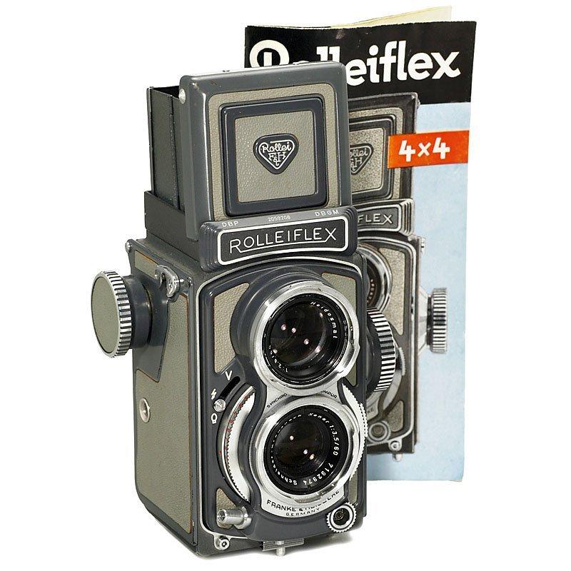 Rolleiflex 4x4 Grey (Baby-Rollei), 1960
