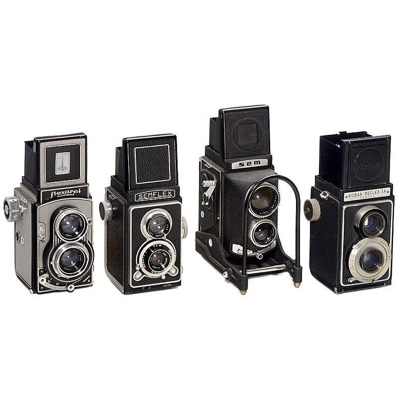 3 TLR Cameras