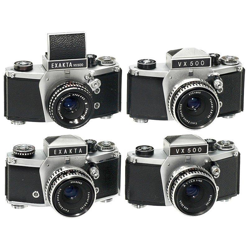 4 Exakta Models (Various)