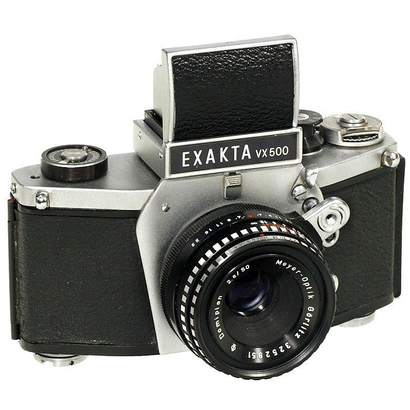 Exakta VX500 (without Flash Indication), 1969