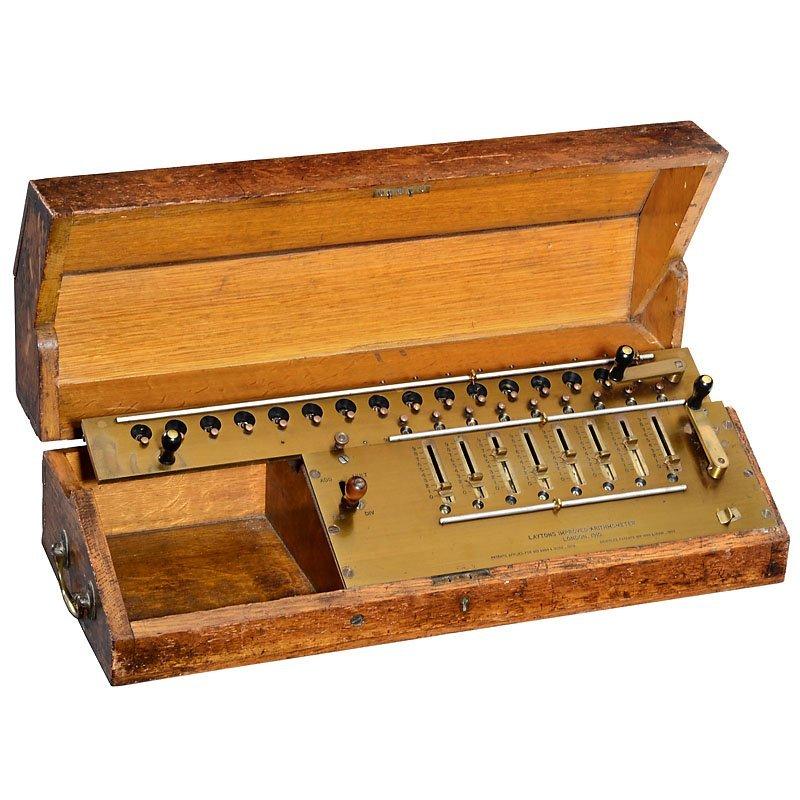 """""""Layton's Improved Arithmometer"""", 1910"""