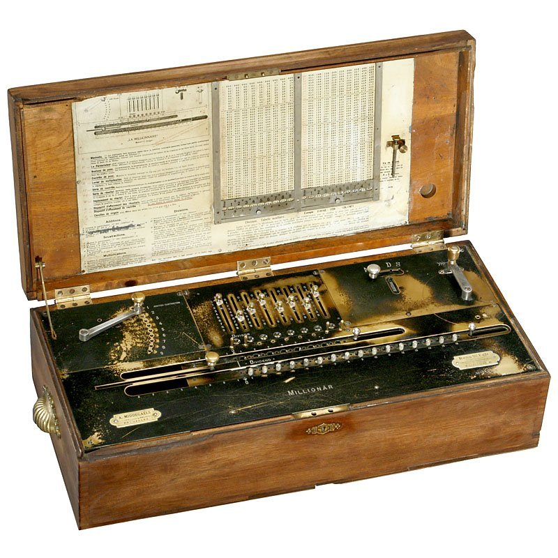 """Millionär"" Calculator, 1895"