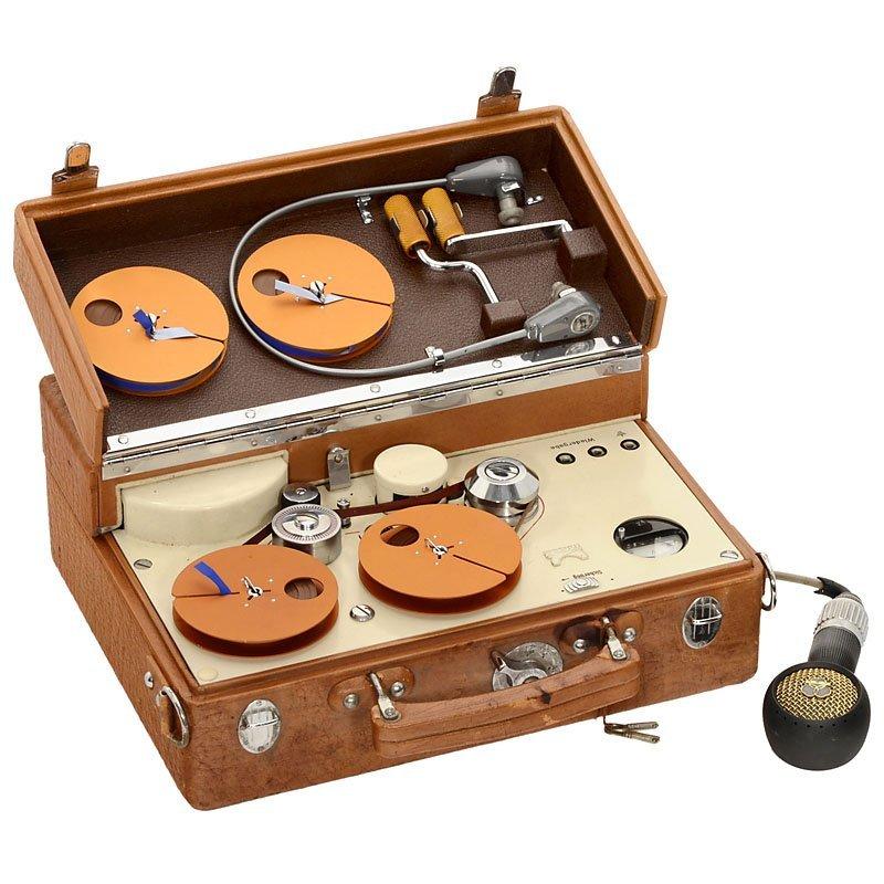 Maihak Reportofon MMK 3TR Tape Recorder, c. 1957