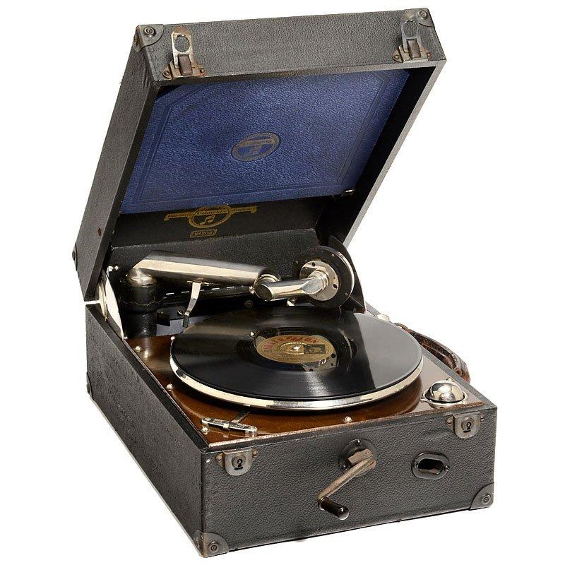 Gramophone tonarm shoulder for horn gramophone