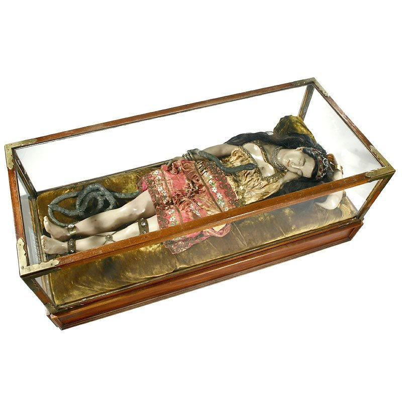 "Rare Life-Sized Automaton ""The Death of Cleopatra"", c. - 2"