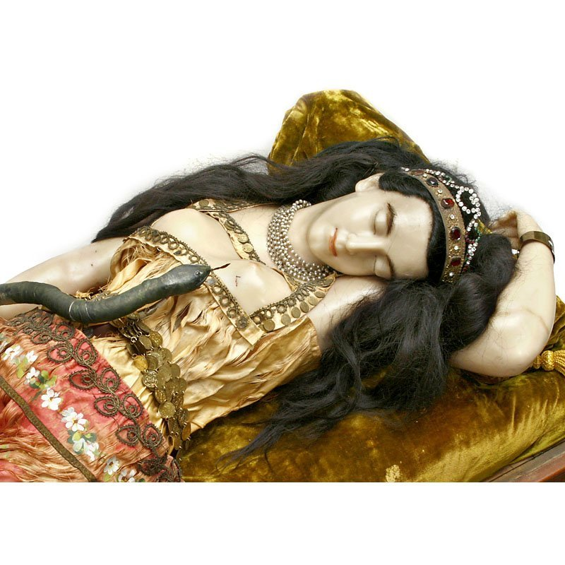 "Rare Life-Sized Automaton ""The Death of Cleopatra"", c. - 3"
