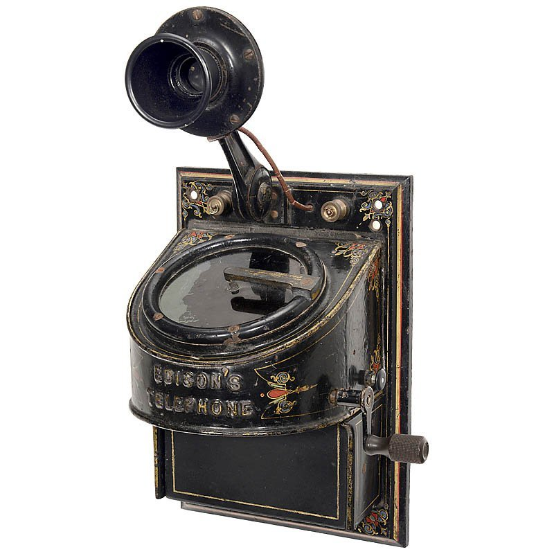 "Edison's Telephone ""The Motograph"", 1877"