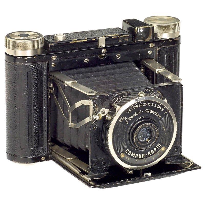 Zeiss Ikon Prototype with Prototype Compur-Rapid, c.