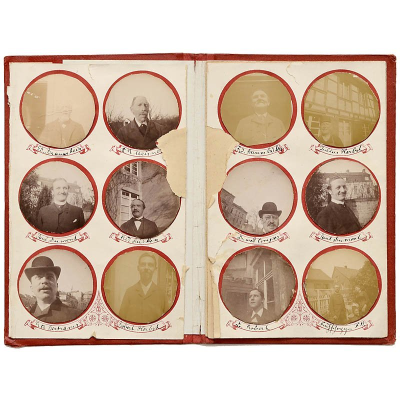 Photographien mit C.P. Stirn's Geheim-Camera, c. 1886