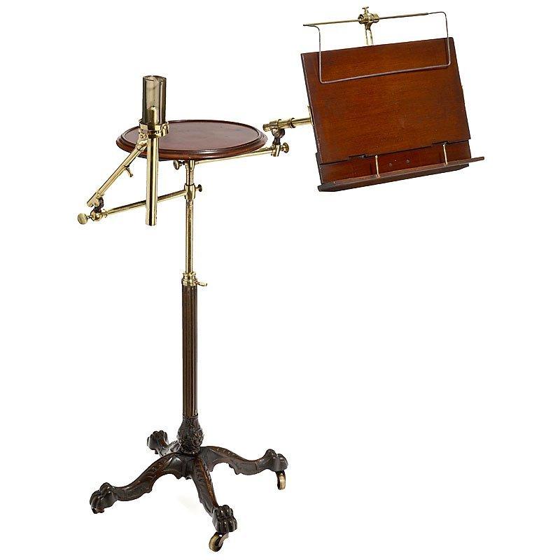 John Carter's Literary Machine Victorian Reading Table,