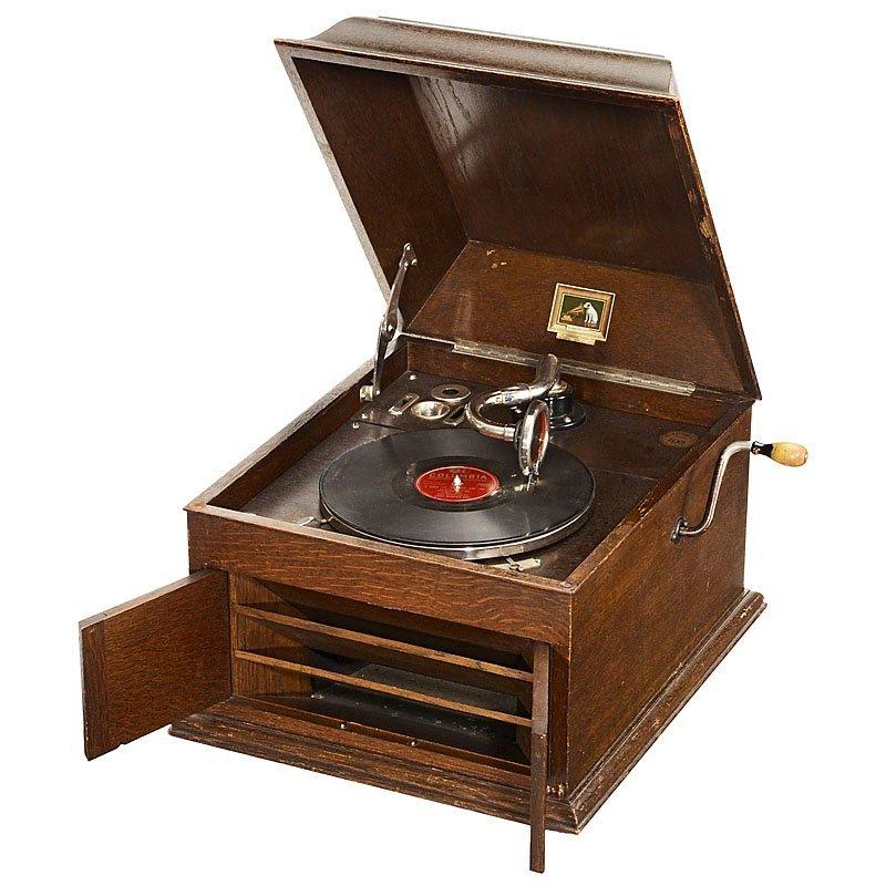 HMV Model 103 Table Top Gramophone