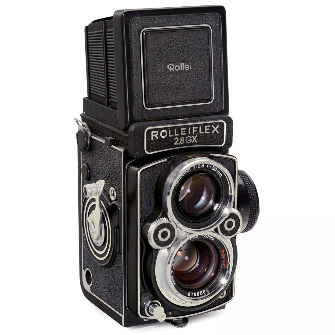 Rolleiflex 2,8 GX, c. 1988