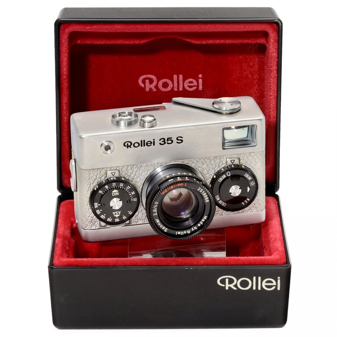 Special Model: Rollei 35 S Chrome/Silver, 1978