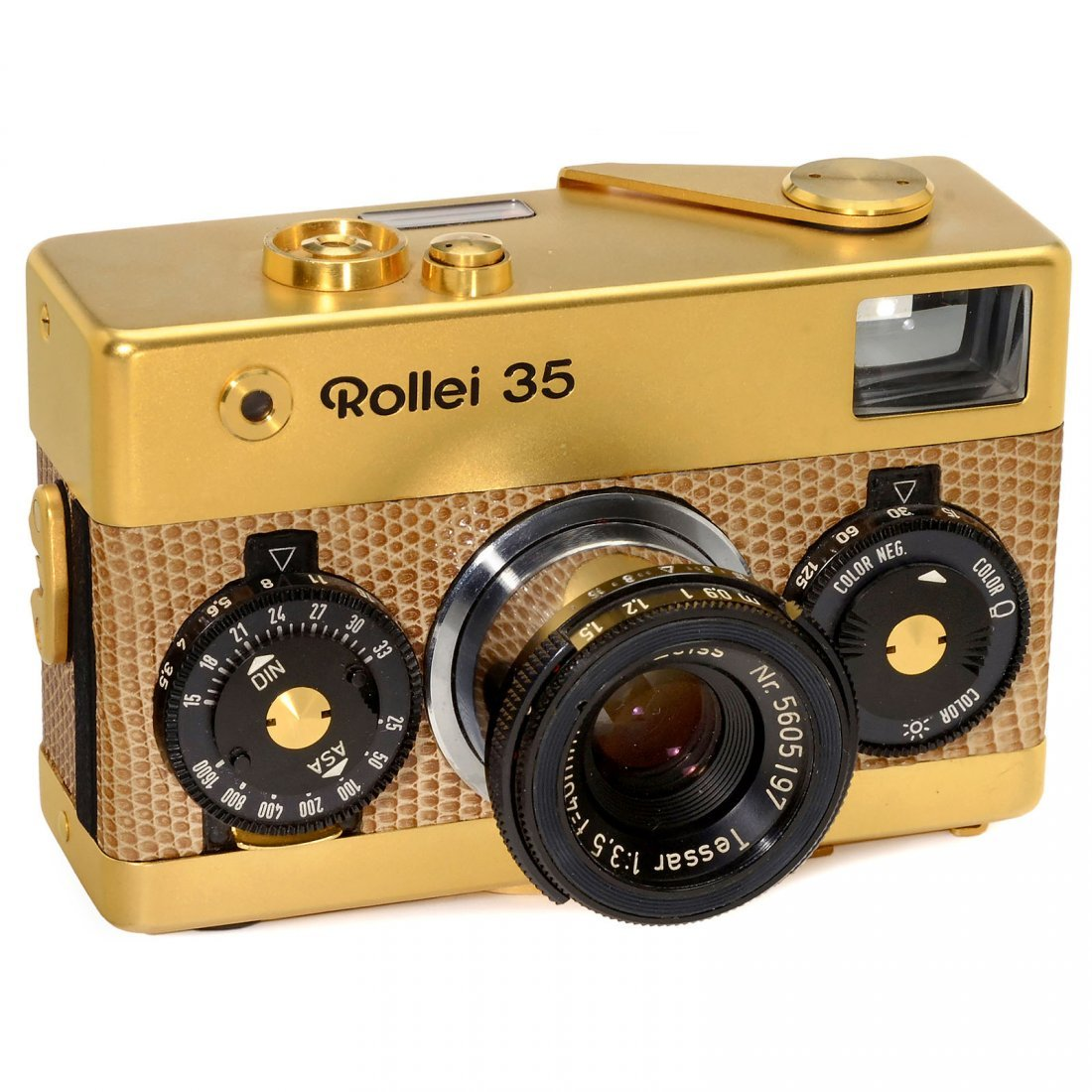 """Rollei 35 Gold """"Singapore"""", 1971"""